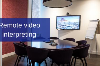 remote video interpreting