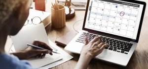 Printable Calendar PDF Organizational Tips Thumbnail 1